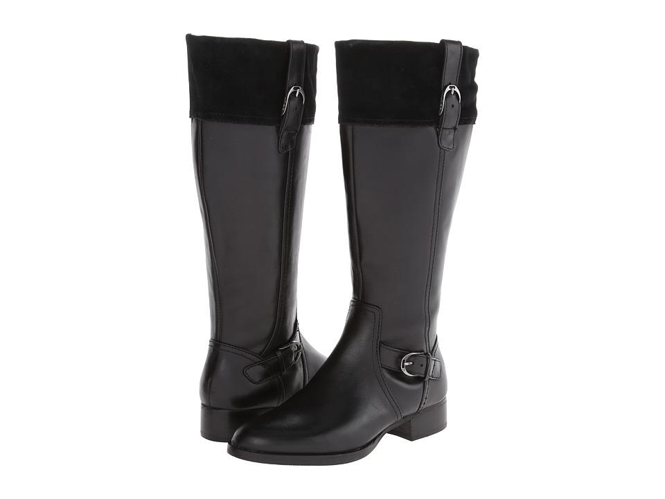 Ariat - York-Wide Calf (Obsidian) Women's Wide Shaft Boots