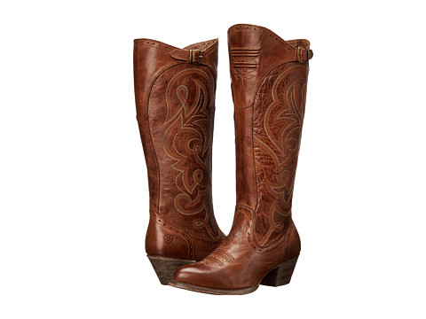 Ariat - Wanderlust-Wide Calf (Sandstorm) Women's Wide Shaft Boots
