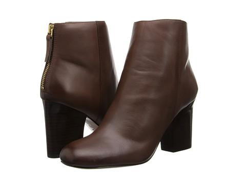 Nine West - Genevieve (Dark Brown Leather) Women's Pull-on Boots