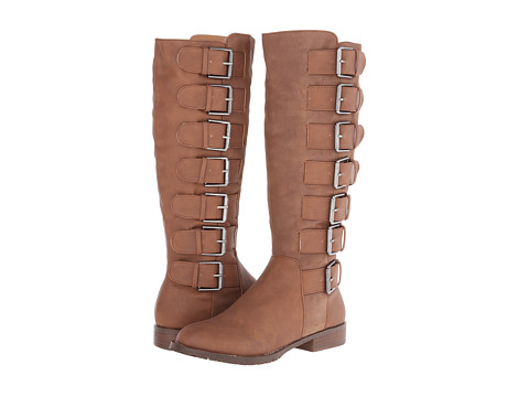 Michael Antonio - Baxley (Chocolate Heavy Pu) Women's Zip Boots