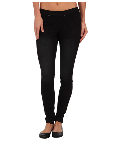 HUE - Washed Brights (Black) Women's Casual Pants