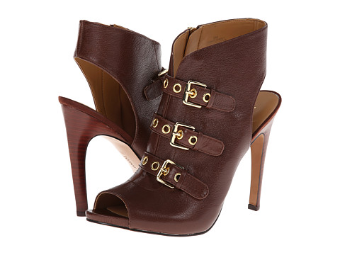 Nine West - Mohawk It (Dark Brown Leather) High Heels