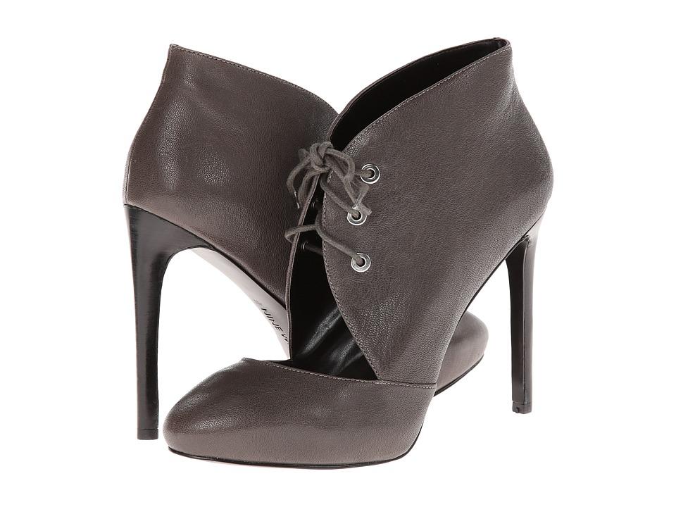 Nine West - Nicolette (Dark Grey Leather) High Heels
