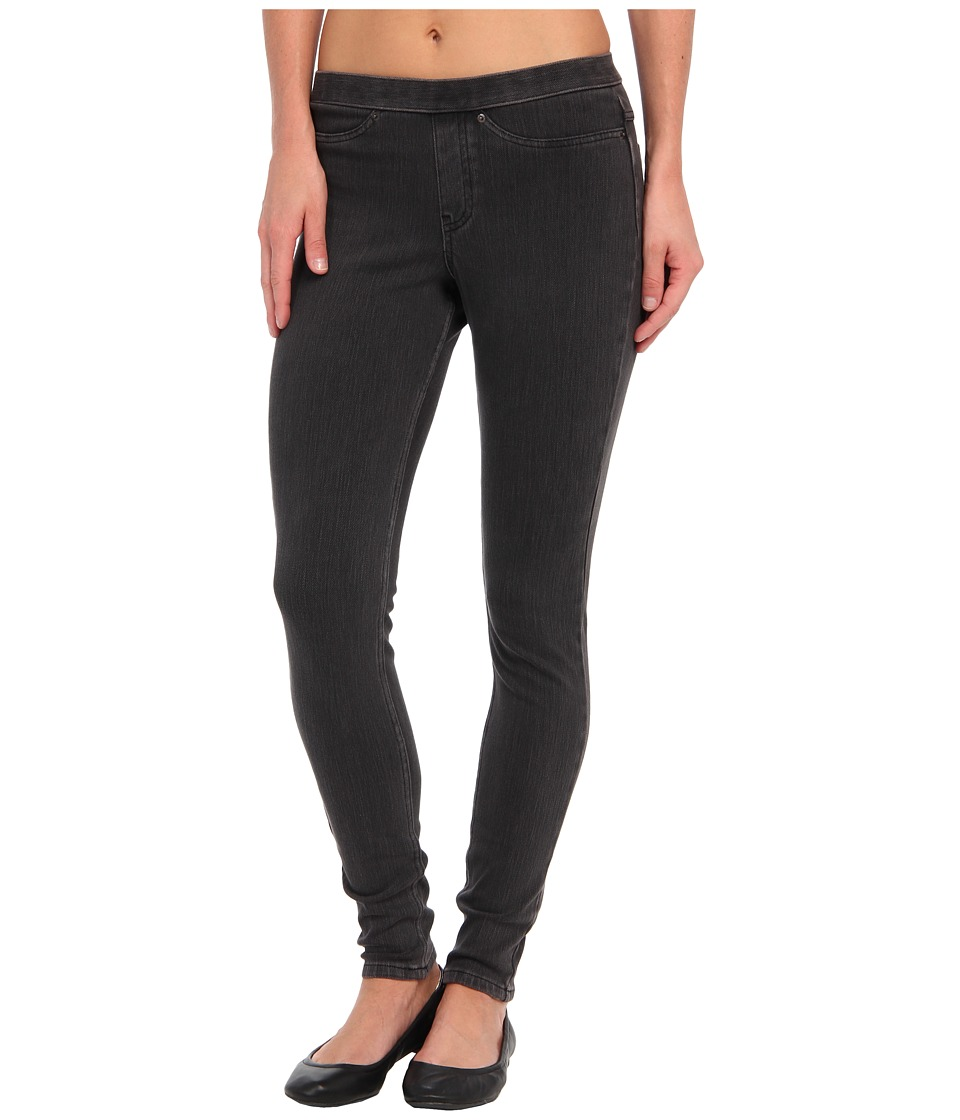 HUE - Original Jeanz Legging (Graphite Wash) Women's Casual Pants