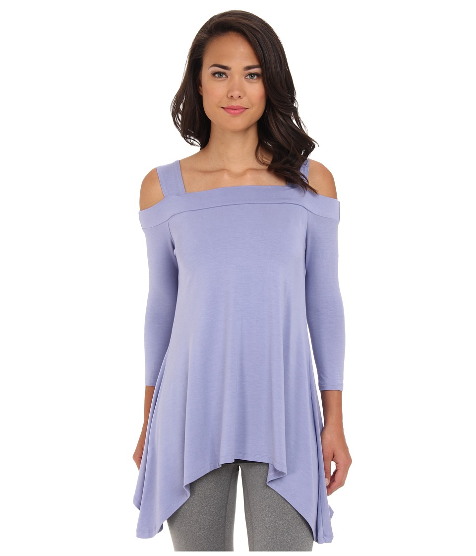 Lysse - Cold Shoulder Top w/ Inner Control Tank (Thistle) Women's Long Sleeve Pullover