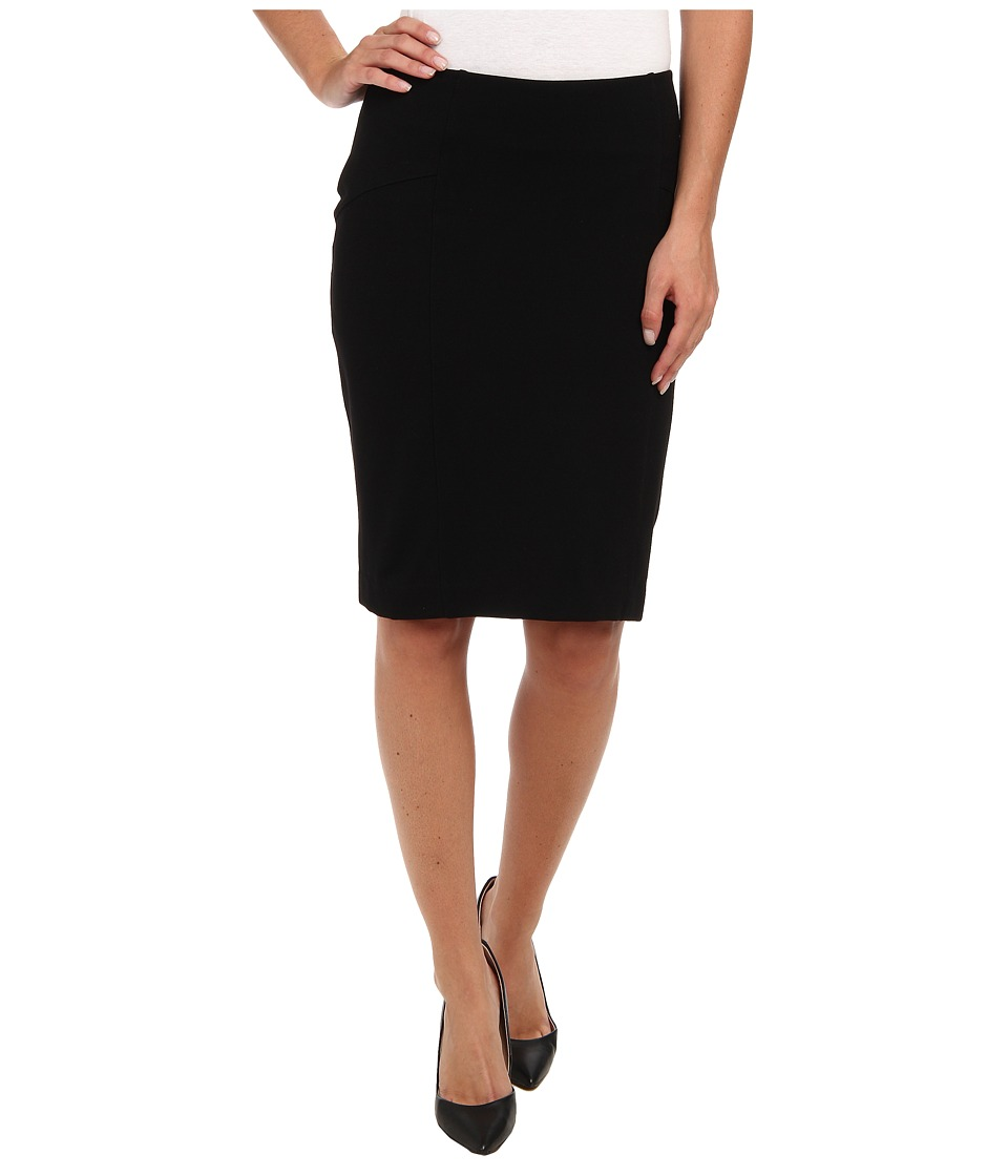 Lysse - Perfect Ponte Skirt 5140K (Black) Women's Skirt