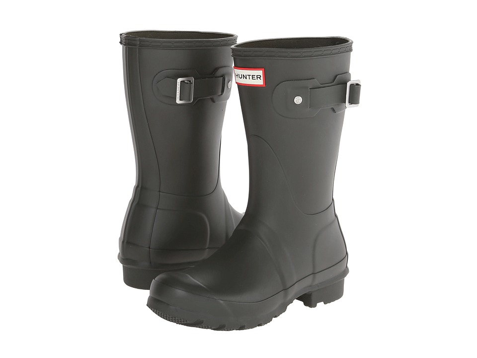Hunter - Original Short (Dark Olive) Women's Rain Boots