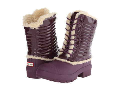 Hunter - Original Patent Pac Boot (Bright Plum) Women