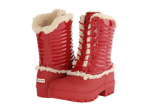 Hunter - Original Patent Pac Boot (Military Red) Women's Boots
