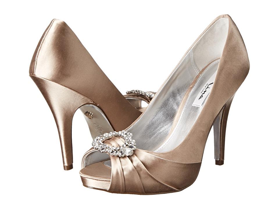 Nina - Elvira (Champagne) High Heels