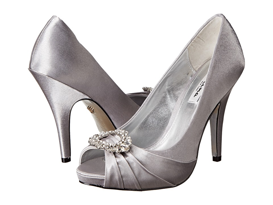 Nina - Elvira (Royal Silver) High Heels