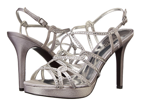 rsvp - Cacey (Royal Silver Royal Satin) High Heels