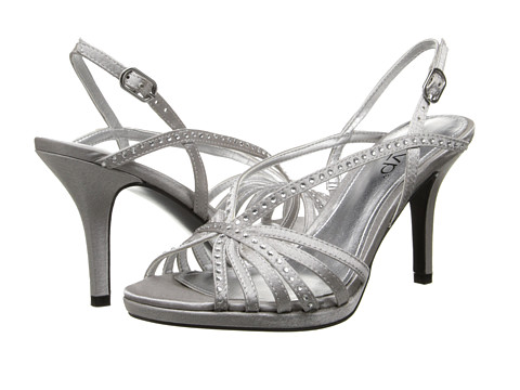 rsvp - Veeda (Royal Silver Royal Satin) High Heels
