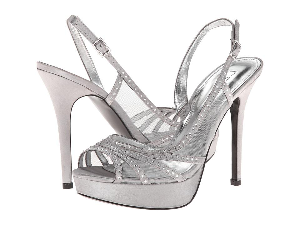 rsvp - Selina (Royal Silver Royal Satin) High Heels