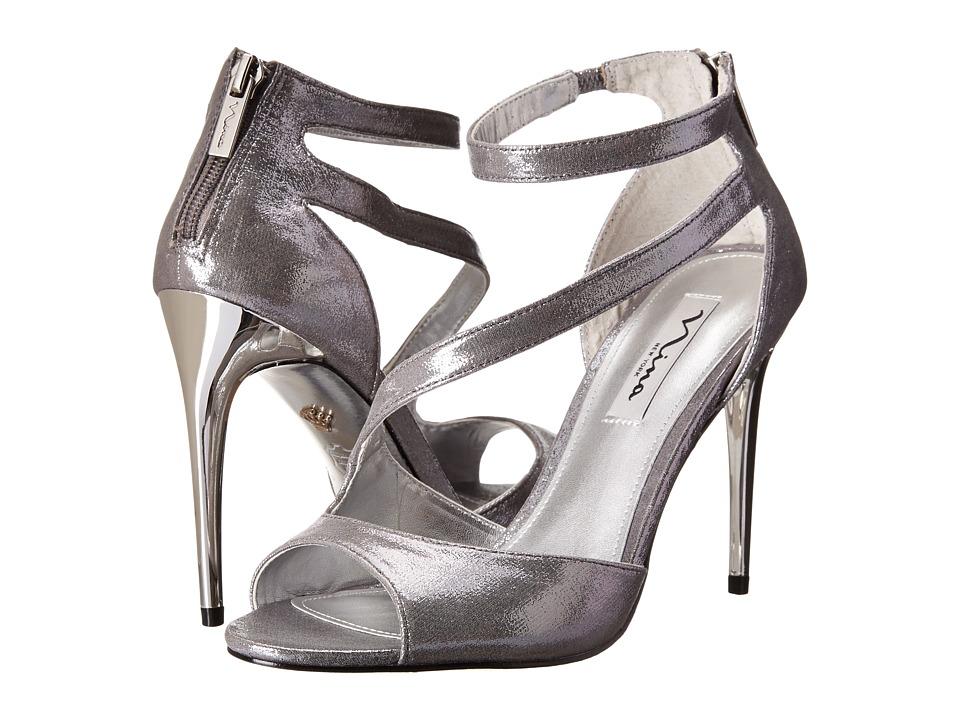 Nina Mckenna (Silver) High Heels