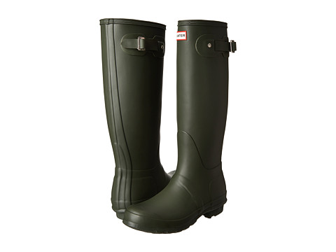 Hunter - Original Tall (Dark Olive) Women's Rain Boots