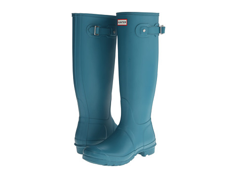 Hunter - Original Tall (Bright Peacock) Women's Rain Boots