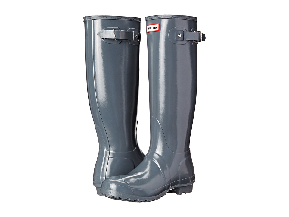 Hunter - Original Gloss (Graphite Gloss) Women's Rain Boots