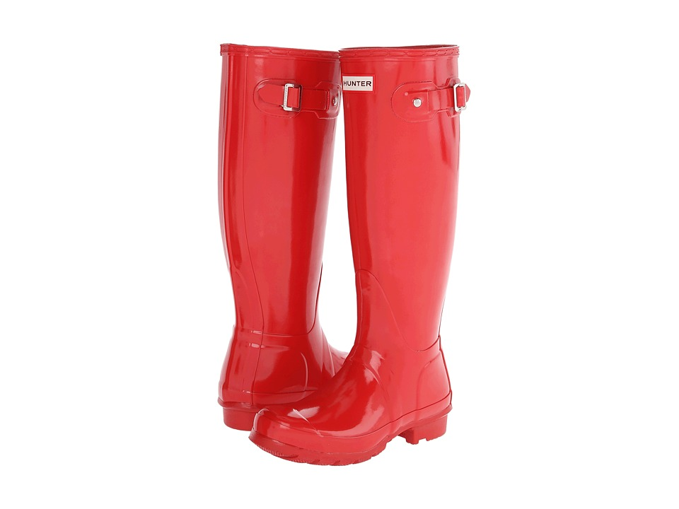 Hunter - Original Gloss (Pillar Box Red 1) Women's Rain Boots
