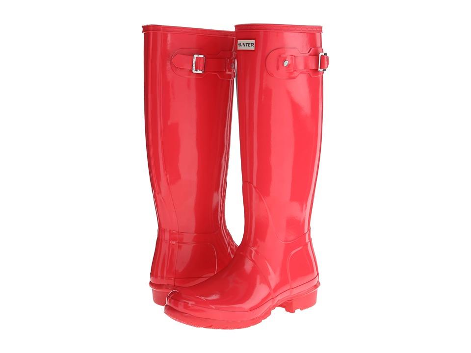 Hunter - Original Gloss (Bright Coral) Women's Rain Boots
