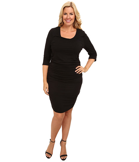 Lysse - Plus Size Marais Dress (Black) Women's Dress