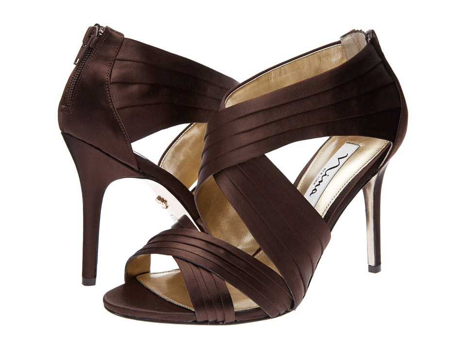 Nina - Melizza (Brownie) High Heels