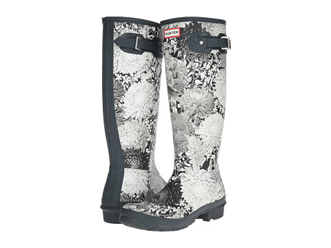 Hunter - Rhs Original Tall (Black) Women's Rain Boots