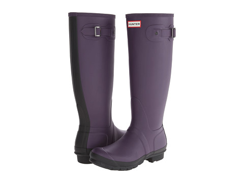 Hunter - Original Two-Tone (Dark Plum) Women's Rain Boots
