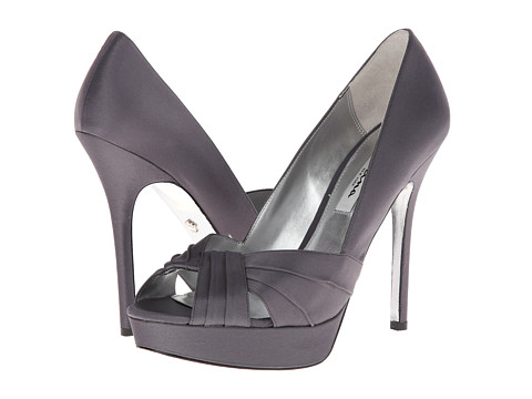 Nina - Milan (Steel/Stealth Gray/Stealth Gray) High Heels
