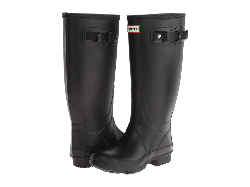Hunter - Huntress (Black Matte) Women's Rain Boots