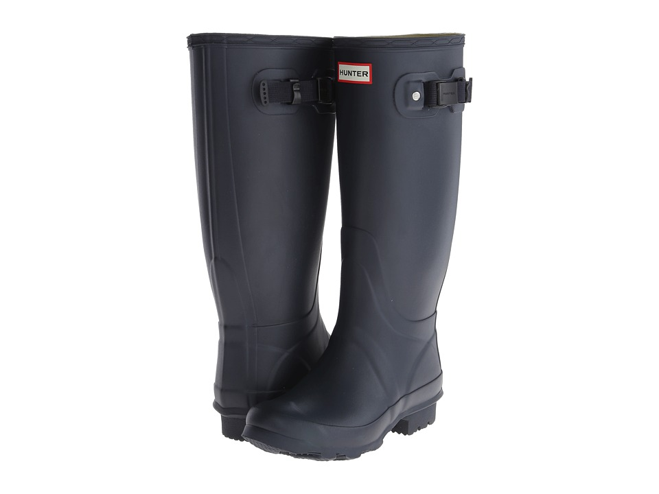Hunter - Huntress (Navy Matte) Women's Rain Boots