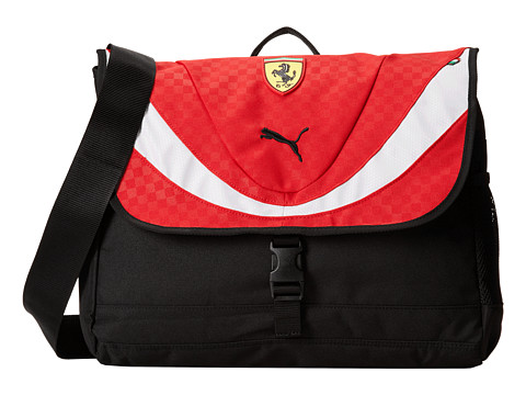 PUMA - Ferrari Replica Shoulder Bag (Red) Bags