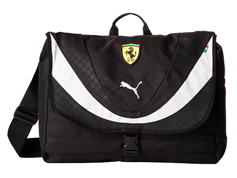 PUMA - Ferrari Replica Shoulder Bag (Black) Bags