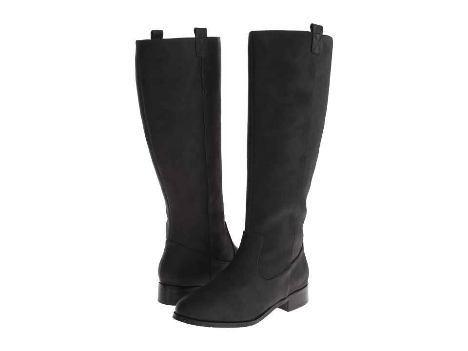 Gabriella Rocha - Ardeen Wide Calf (Black Crazy Horse) Women