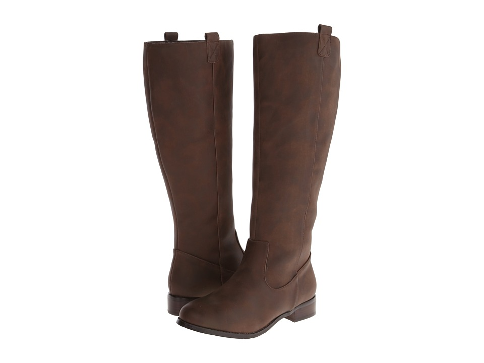 Gabriella Rocha - Ardeen Wide Calf (Brown Crazy Horse) Women