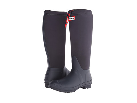 Hunter - Original Tour Neoprene (Navy) Women's Rain Boots