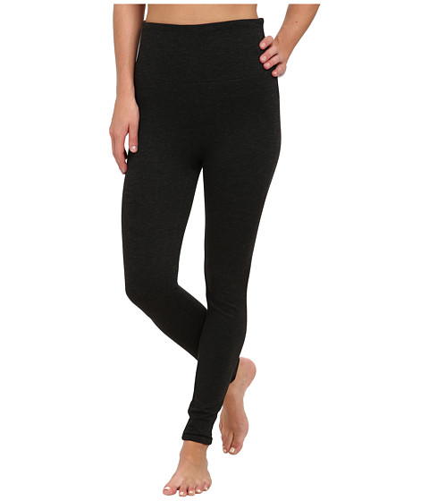 Spanx - Ready-to-Wow! Heathered Ponte Leggings (Charcoal Heather) Women's Casual Pants