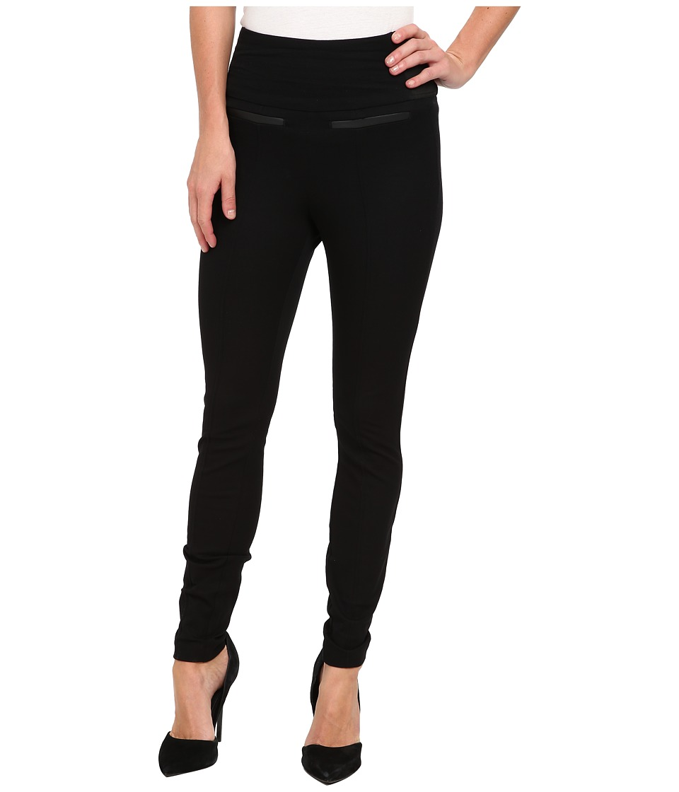 Spanx - Ready-to-Wow! Classic Twill Leggings (Black) Women's Casual Pants