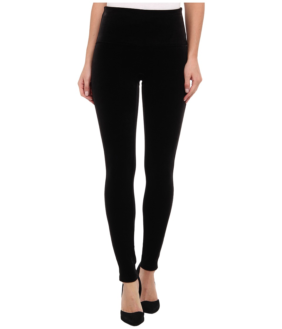 Spanx - Velvet Leggings (Black) Women's Casual Pants