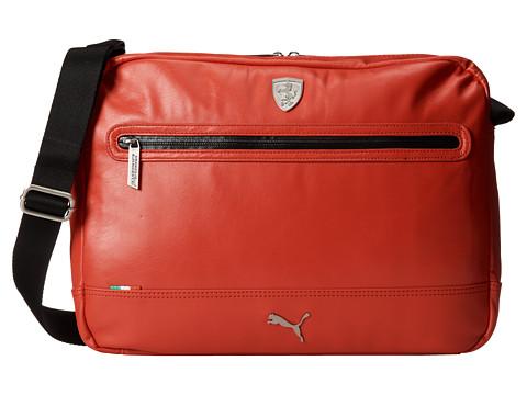 PUMA - Ferrari LS Reporter (Red) Messenger Bags