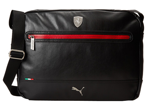 UPC 886510070654 product image for PUMA Ferrari LS Reporter (Black)  Messenger Bags   upcitemdb UPC 886510070654 product image for PUMA Men s  Ferrari Long ... fe4514404f