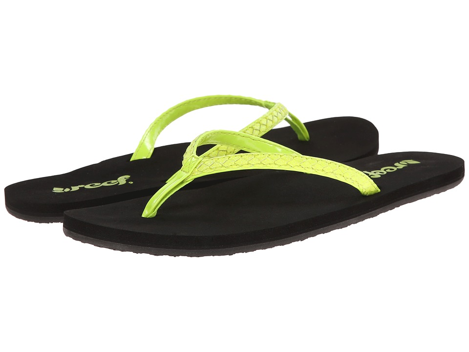 Reef - Twisted Star Brights (Neon Yellow) Women