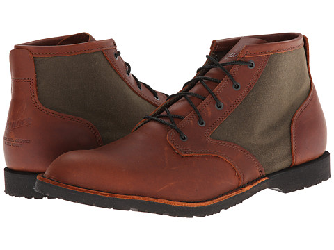 Danner - Forest Heights Pittock (Brown/Green) Men's Work Boots