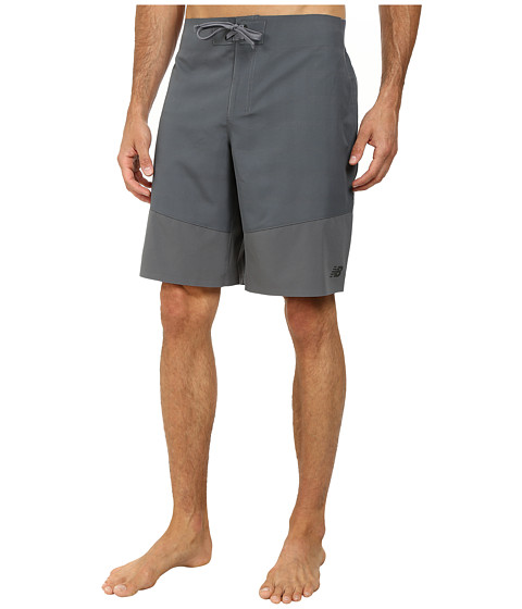 New Balance - Dap 9 Board Short (Lead) Men's Shorts