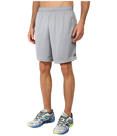 New Balance - Versa 9 Short (Steel/Stealth Gray/Stealth Gray) Men's Shorts