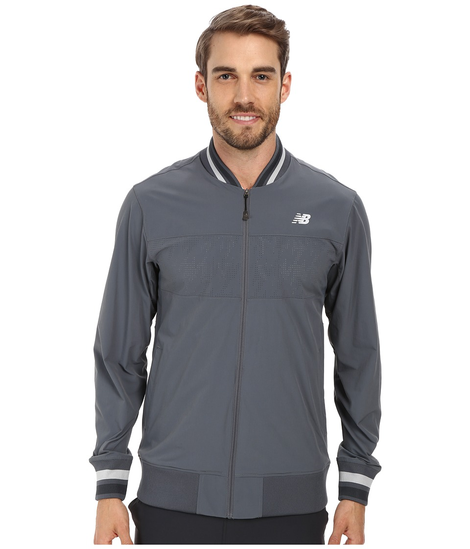 New Balance - Tournament Warm Up Jacket (Lead) Men's Jacket