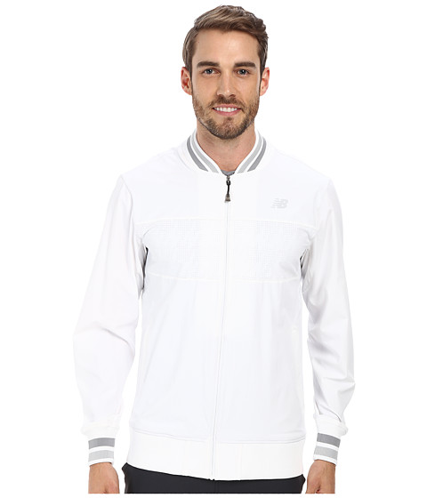 New Balance - Tournament Warm Up Jacket (White) Men