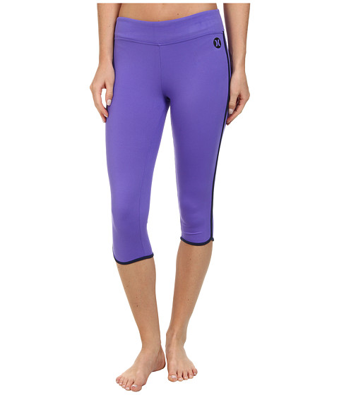 Hurley - Dri-FIT Crop Legging (Electric Purple) Women