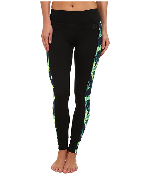 Hurley - Dri-Fit Legging (Key West Green Skeleton) Women's Casual Pants