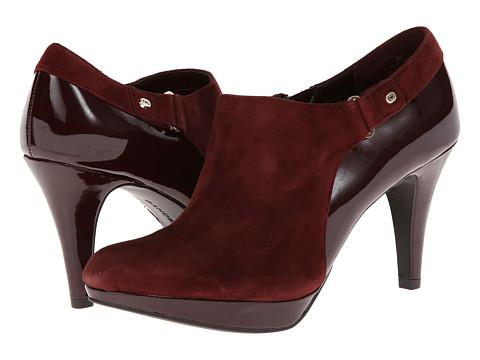 Bandolino - Cassion (Dark Red/Dark Red Suede) High Heels